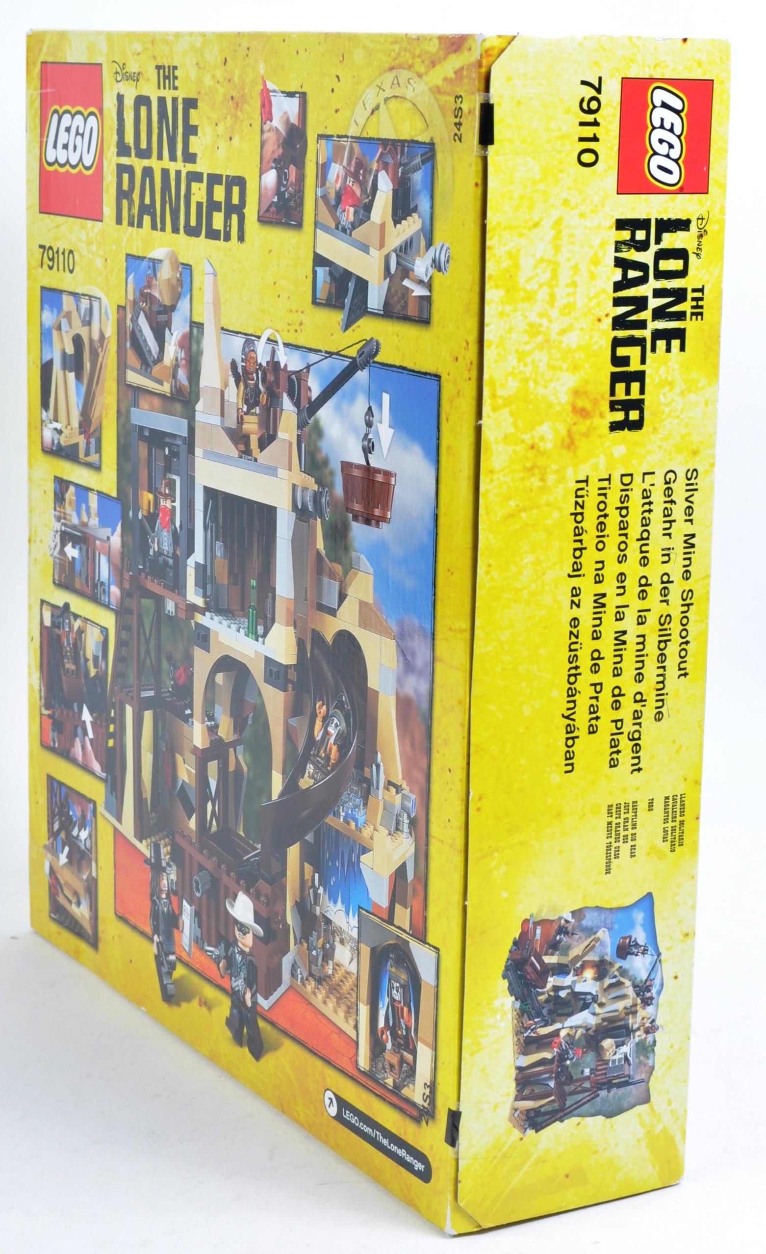 LEGO SET - THE LONE RANGER - 79110 - SILVER MINE SHOOTOUT - Image 3 of 4