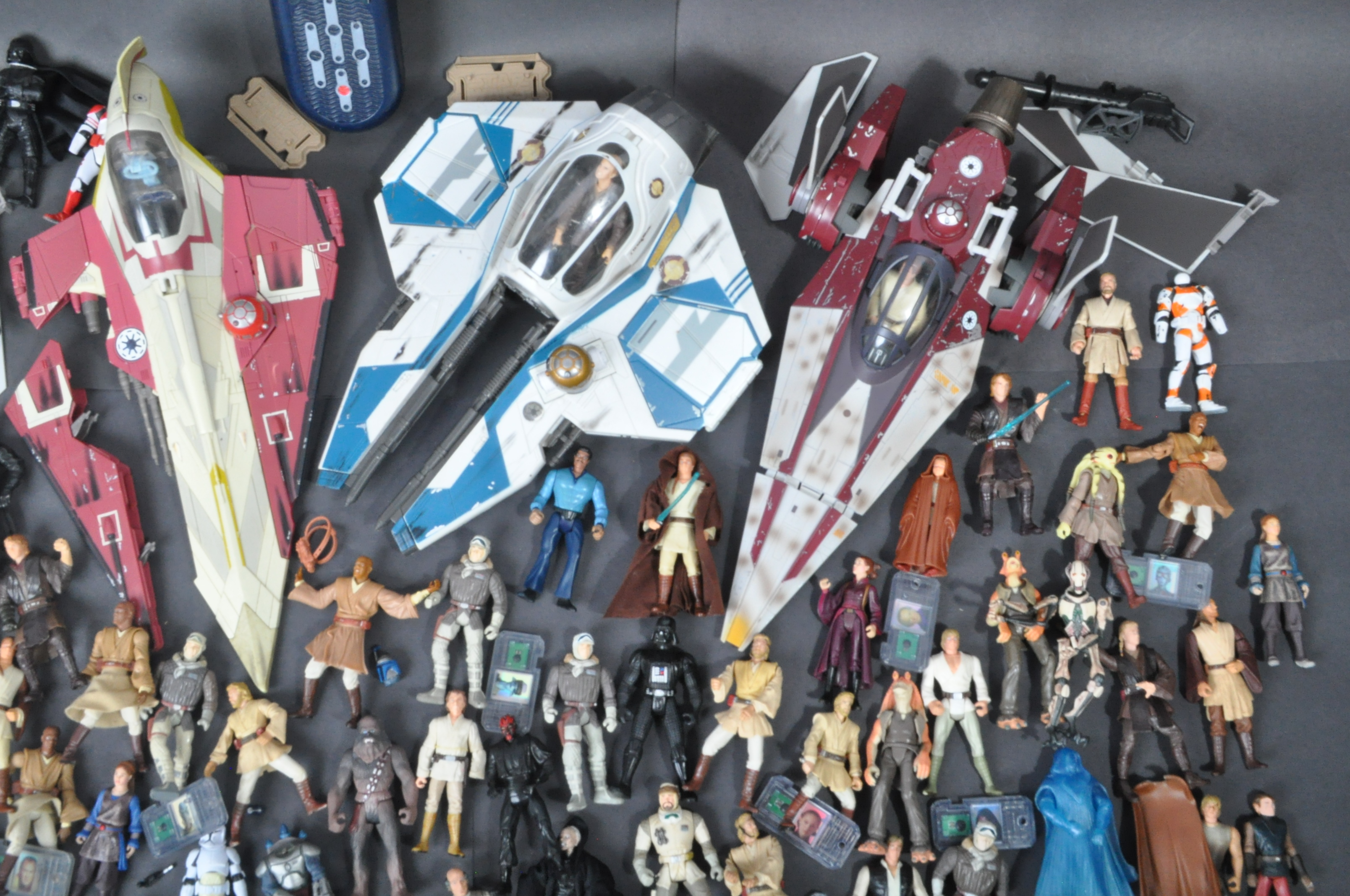 STAR WARS - LARGE COLLECTION KENNER / HASBRO CLONE WARS & OTHER FIGURES - Image 5 of 10
