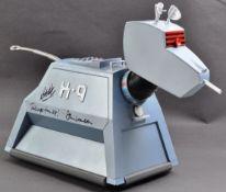 DOCTOR WHO - JOHN LEESON & BOB BAKER - LARGE AUTOGRAPHED K9 FIGURE