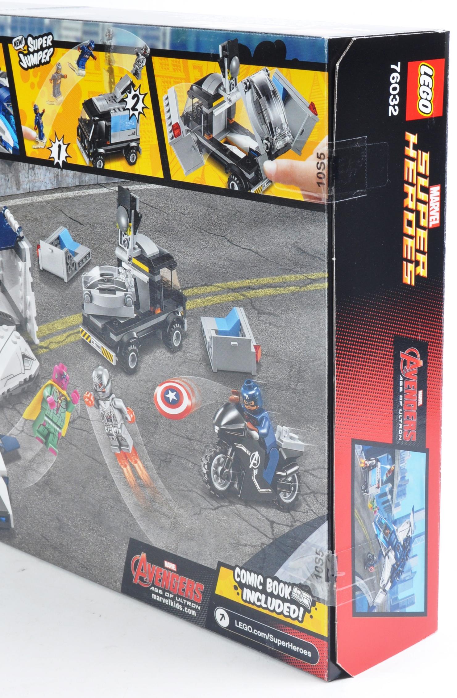 LEGO SET - MARVEL SUPERHEROES - 76032 - AVENGERS QUINJET CITY CHASE - Image 3 of 4