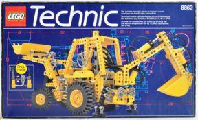 LEGO SET - LEGO TECHNIC - 8862 - BACKHOE GRADER / JCB EXCAVATOR