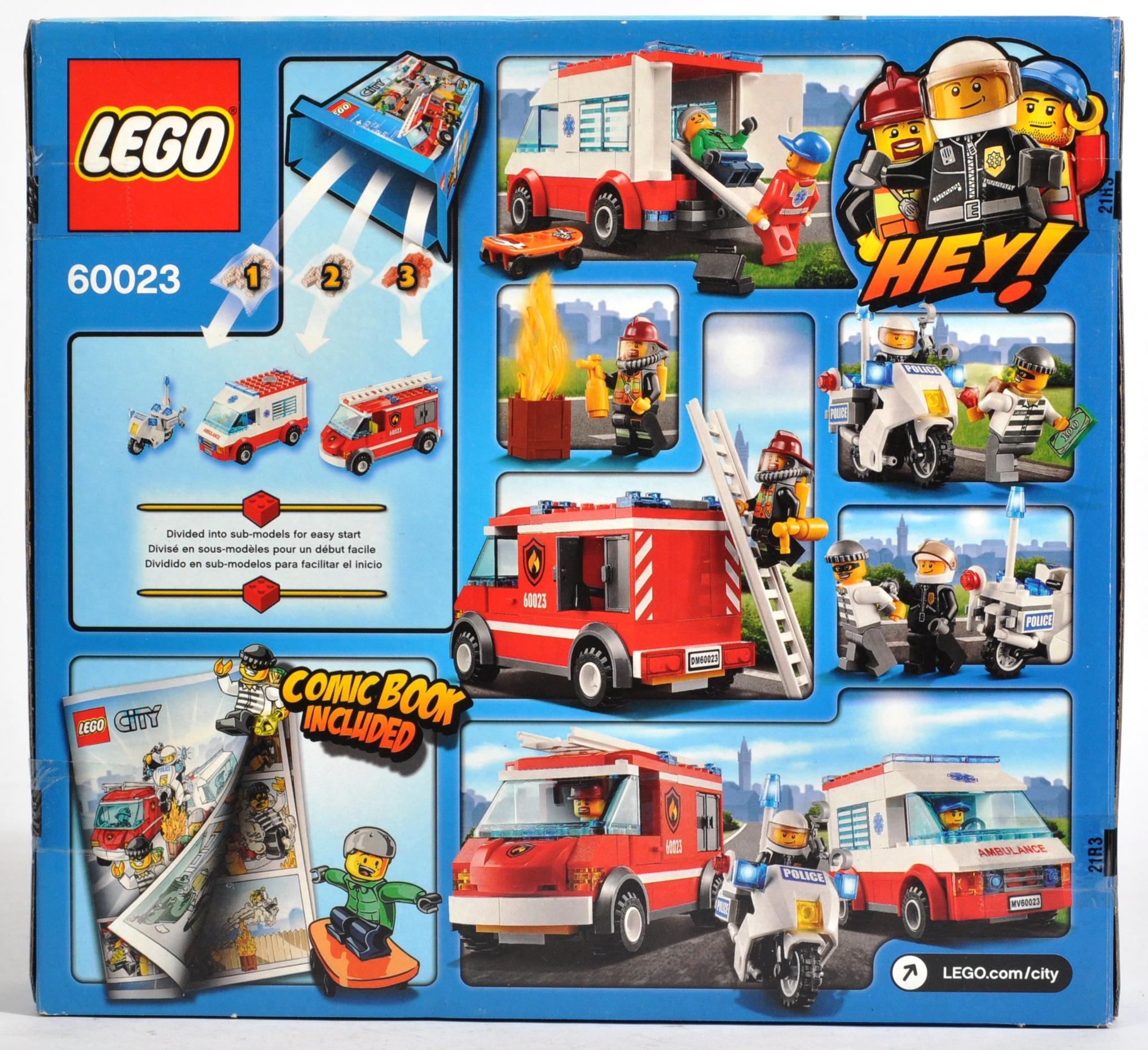 LEGO SETS - LEGO CITY - 60023 / 60056 / 60223 - Image 8 of 11