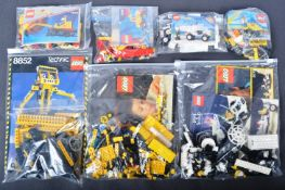 COLLECTION OF X7 ASSORTED UNBOXED VINTAGE LEGO SETS