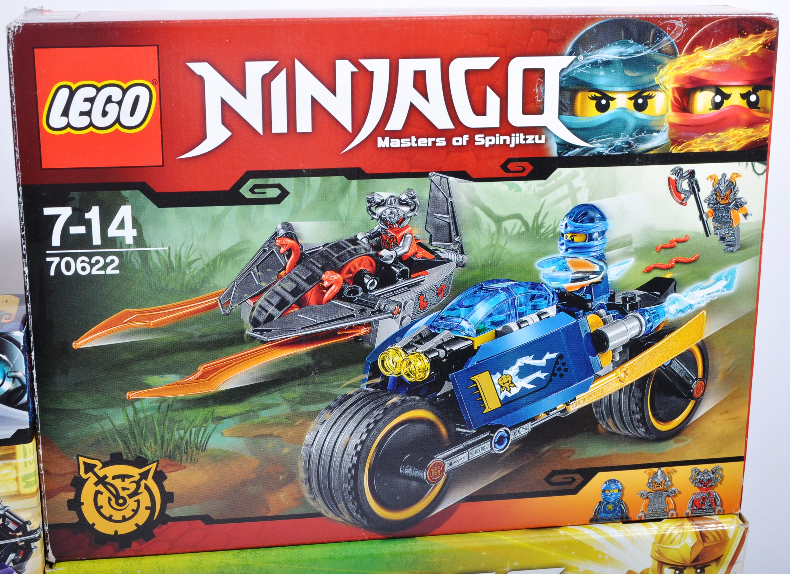 LEGO SETS - LEGO NINJAGO - COLLECTION OF X8 LEGO NINJAGO SETS - Image 5 of 9