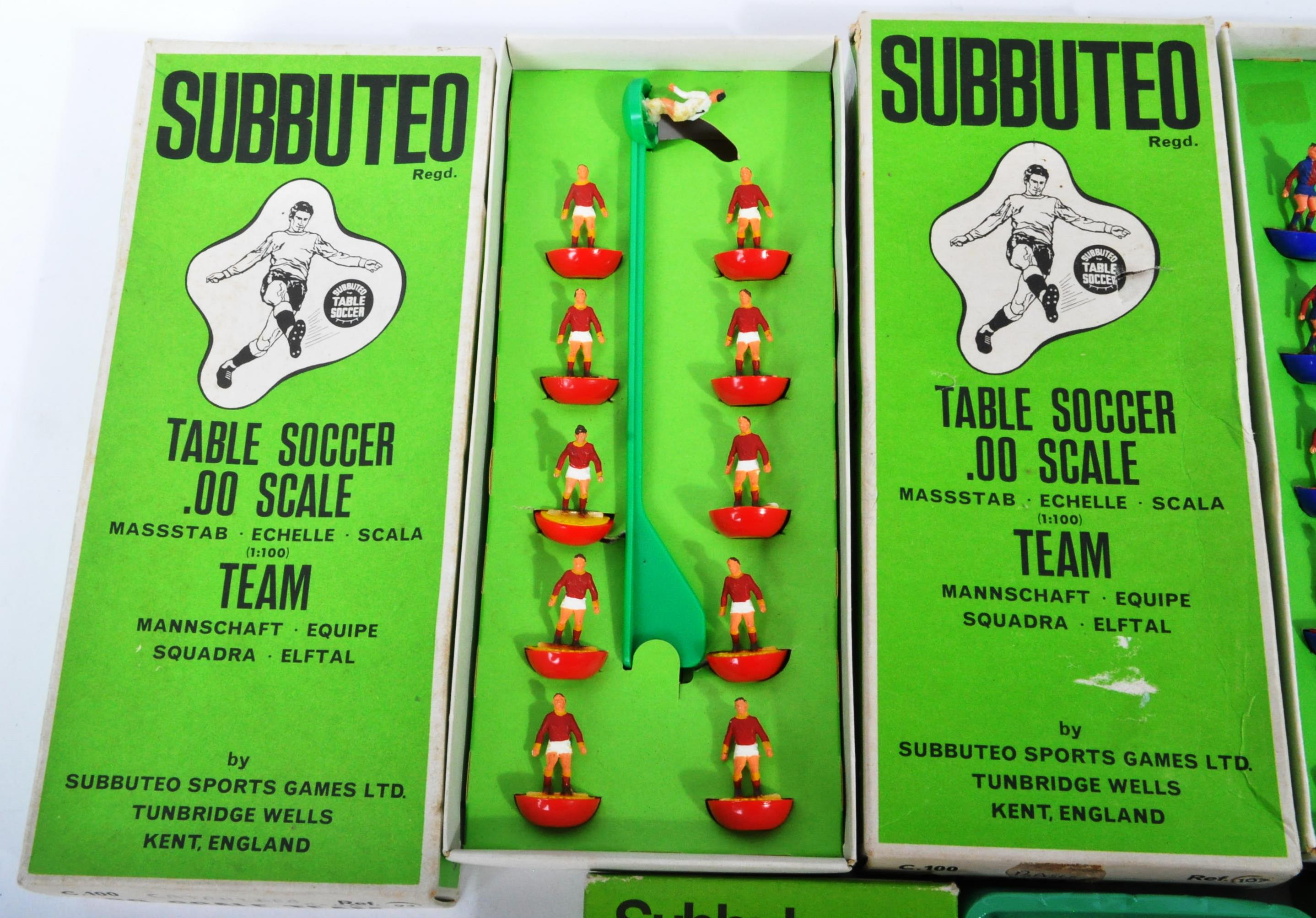COLLECTION OF X5 ORIGINAL VINTAGE SUBBUTEO FOOTBALL TEAMS - Image 4 of 6