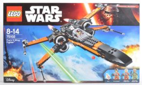 LEGO SET - LEGO STAR WARS - 75102 - POE'S X-WING FIGHTER