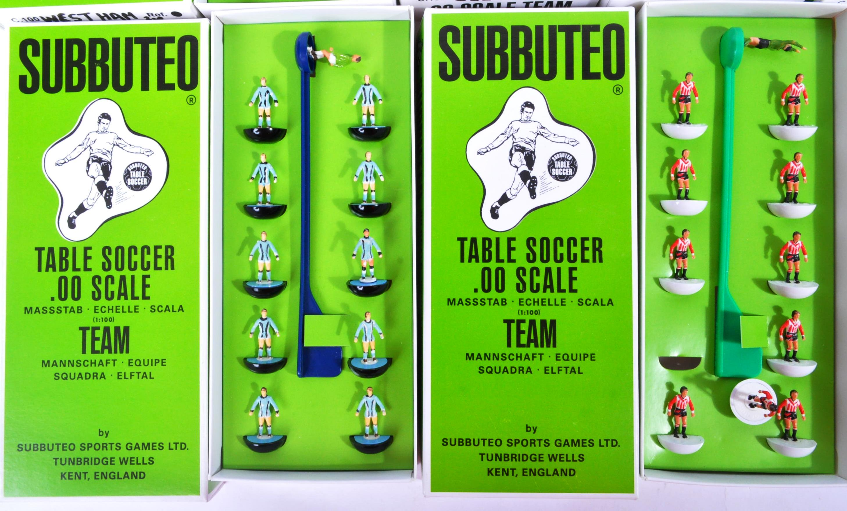 COLLECTION OF X10 ASSORTED VINTAGE SUBBUTEO FOOTBALL TEAMS - Image 2 of 6