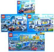 LEGO SETS - LEGO CITY - 60043 / 60044 / 60139 / 60169