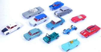 COLLECTION OF VINTAGE DINKY TOYS DIECAST MODEL CARS