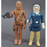 STAR WARS ACTION FIGURES - HAN SOLO & CHEWBACCA