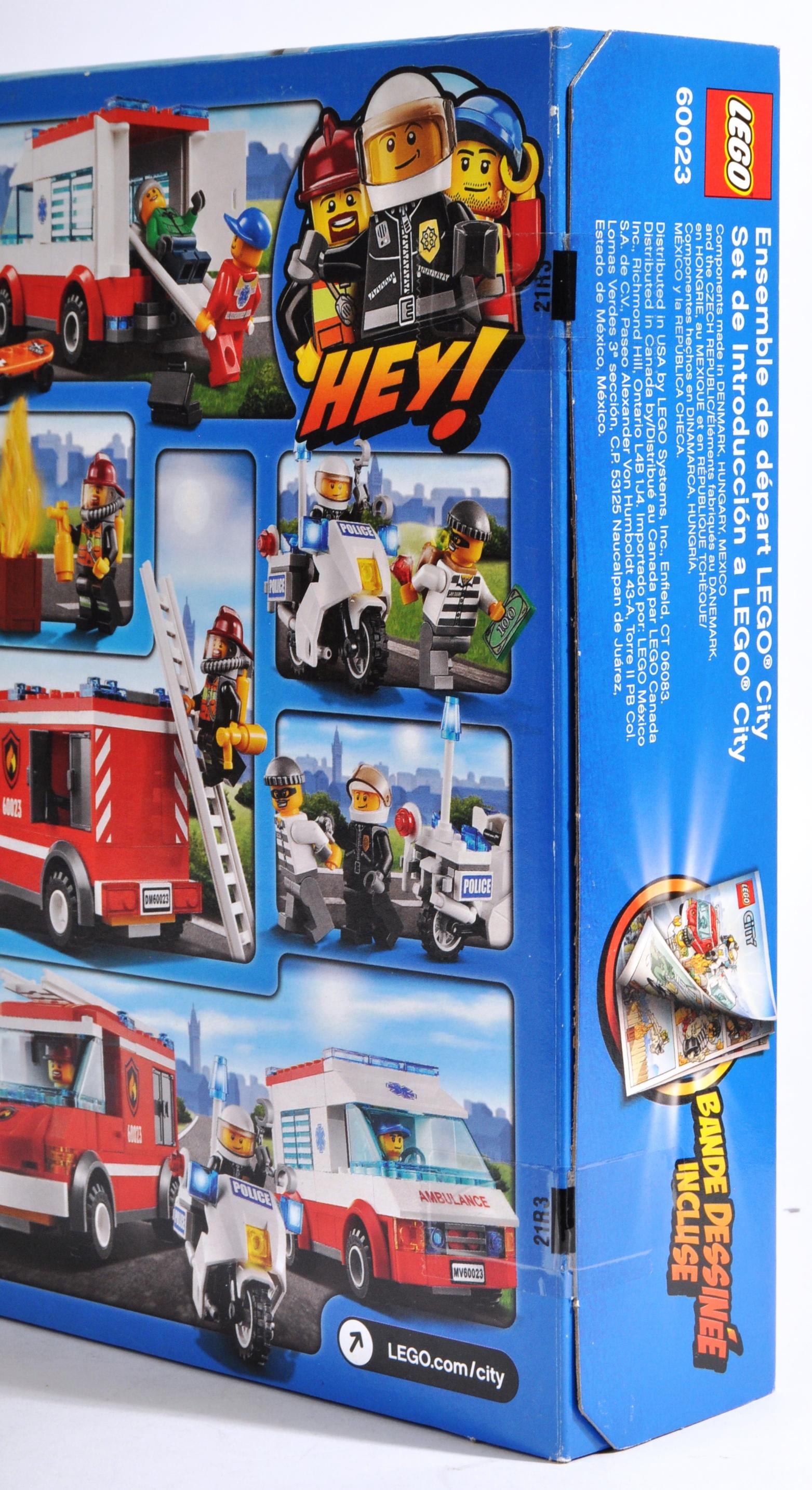 LEGO SETS - LEGO CITY - 60023 / 60056 / 60223 - Image 7 of 11