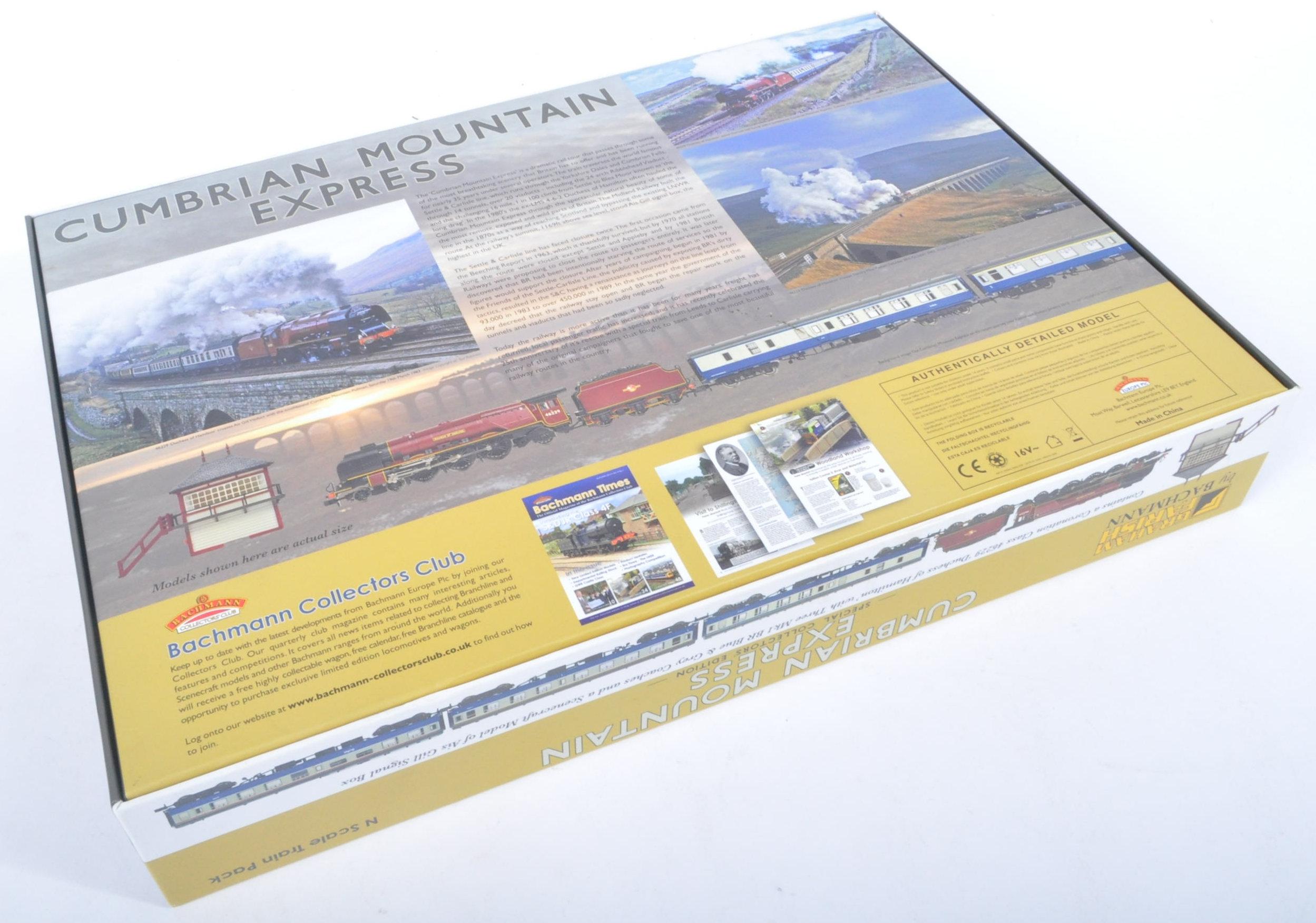 ORIGINAL BOXED GRAHAM FARISH CUMBRIAN MOUNTAIN EXPRESS TRAINSET - Image 9 of 9