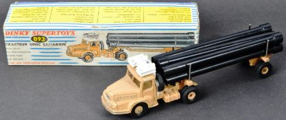 FRENCH DINKY - VINTAGE BOXED DINKY SUPERTOYS DIECAST MODEL