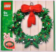 LEGO SET - 40426 - CHRISTMAS WREATH 2 IN 1