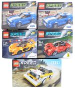 LEGO SETS - LEGO SPEED CHAMPIONS - 76897 / 75871 / 75899 / 75909