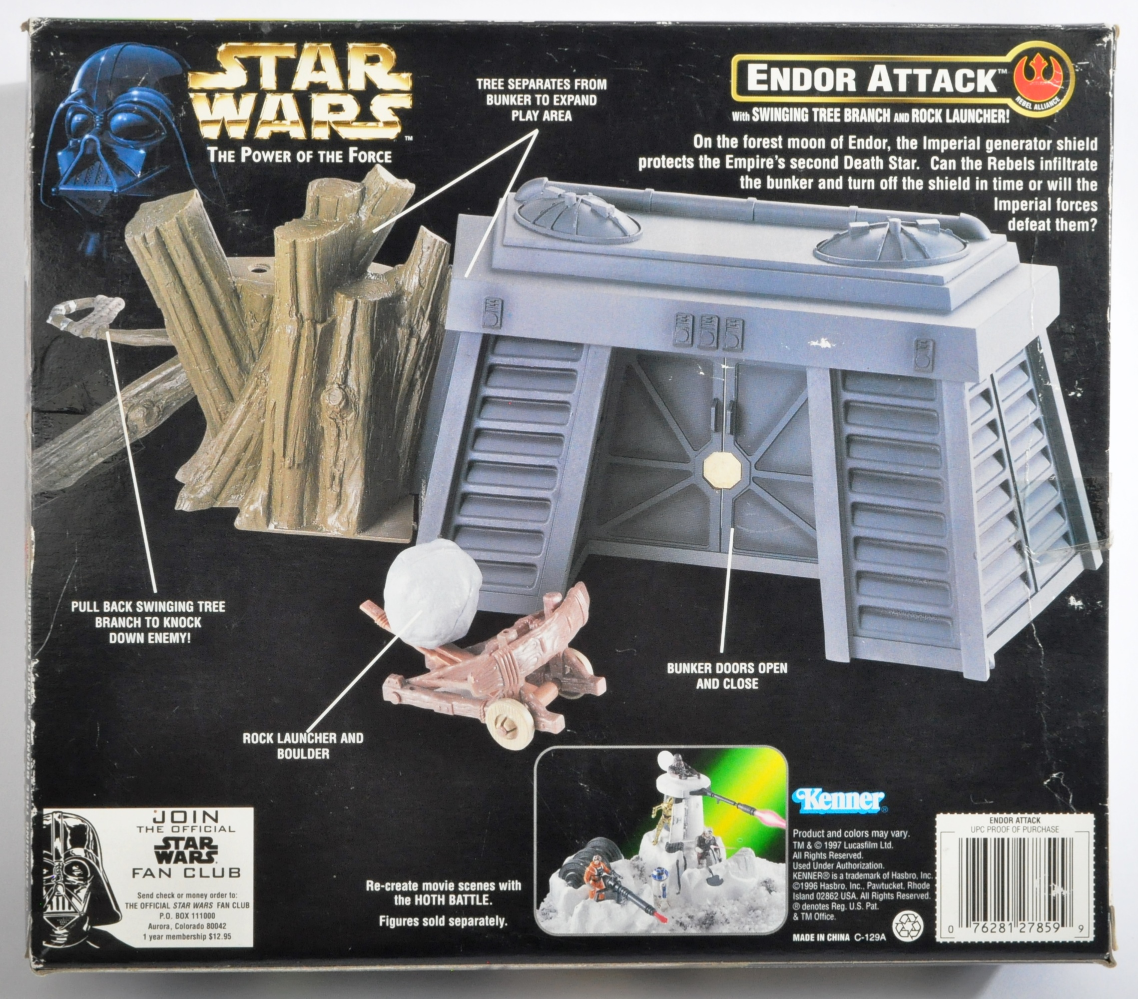 STAR WARS - KENNER POWER OF THE FORCE SEALED PLAYSET - Image 2 of 3