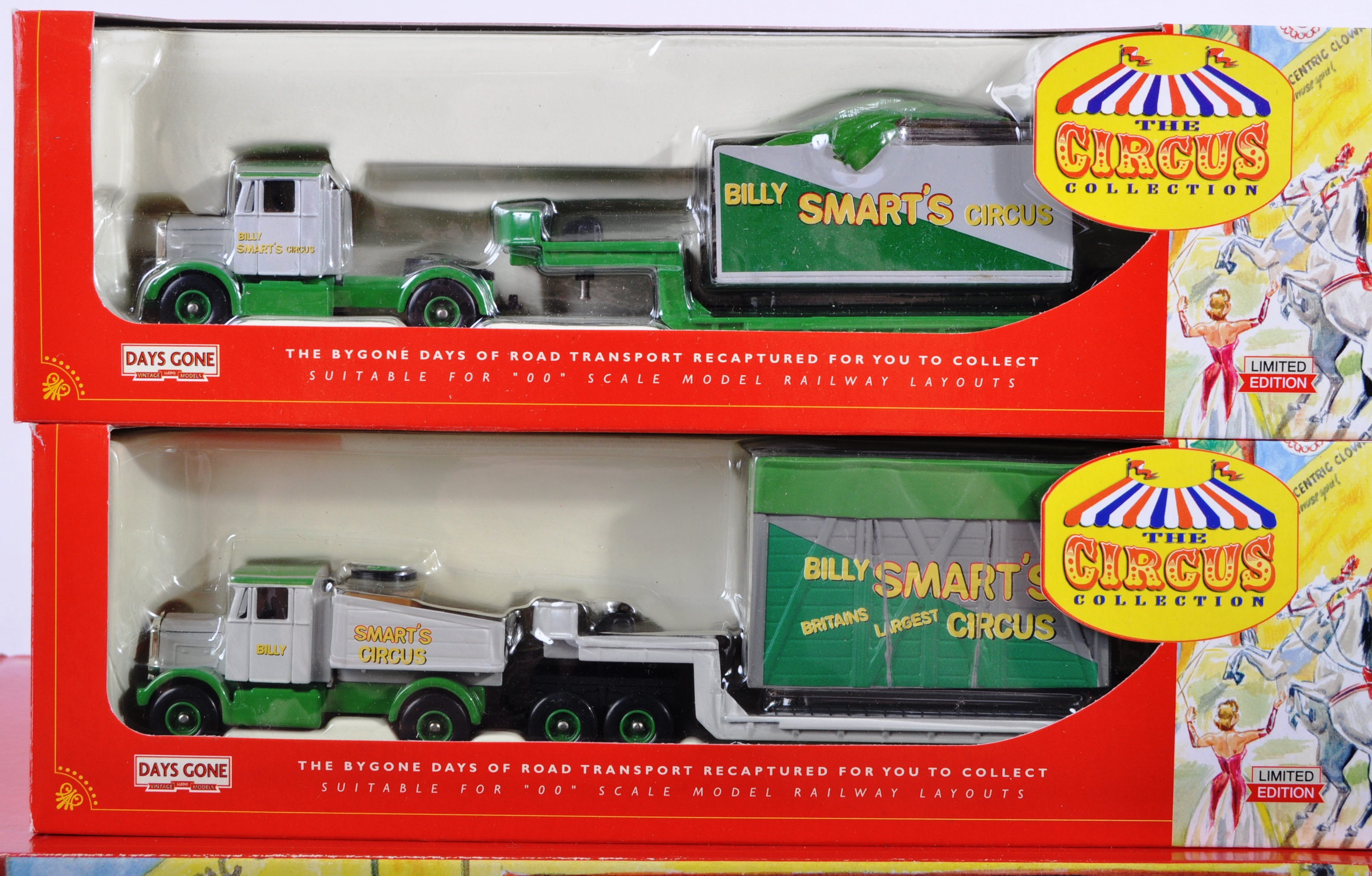 COLLECTION OF LLEDO DAYS GONE BILLY SMARTS CIRCUS DIECAST - Image 5 of 9