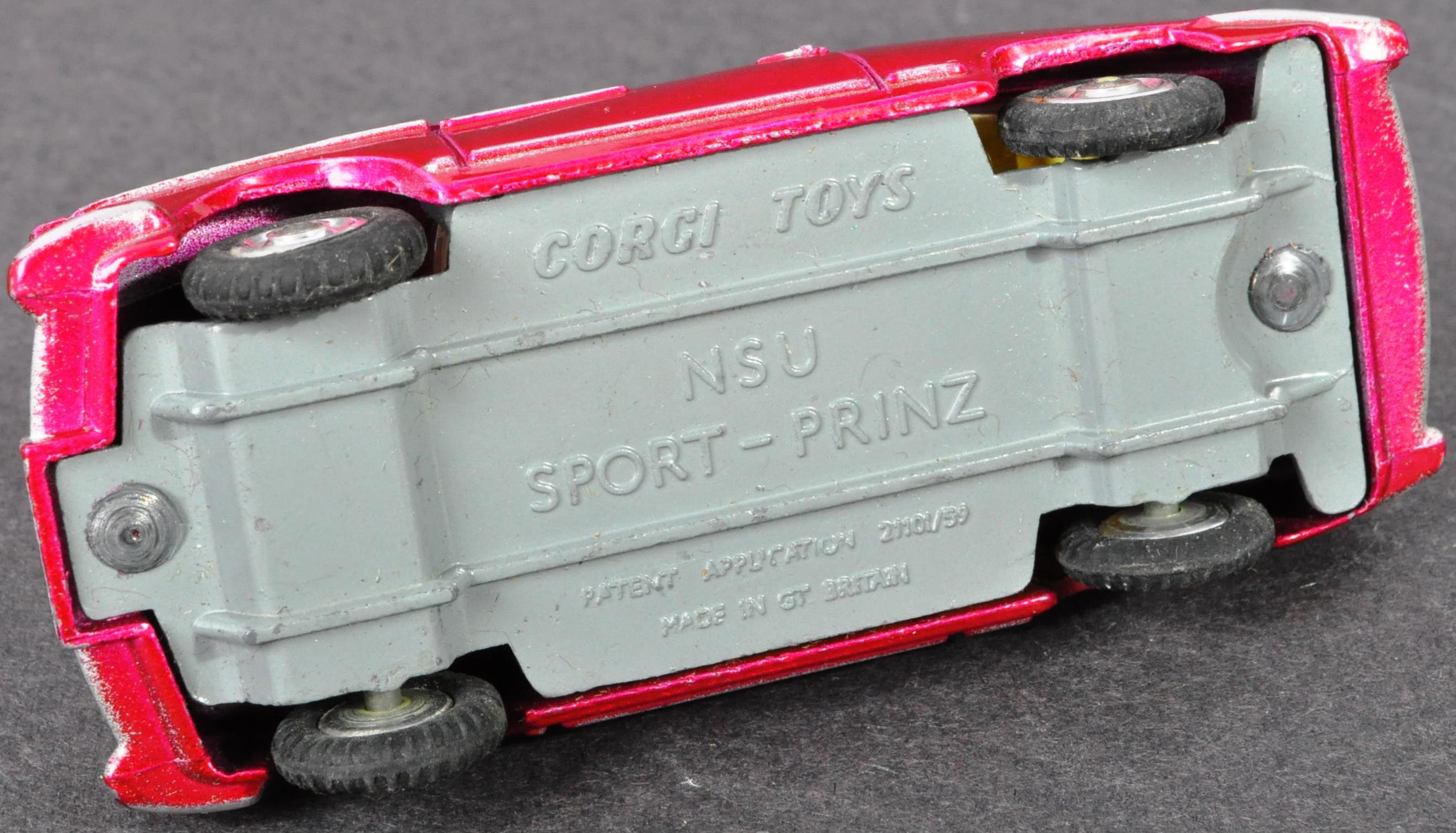 VINTAGE CORGI TOYS BOXED DIECAST MODEL 316 NSU PRINZ - Image 4 of 5