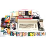 VINTAGE COMMODORE 64 GAMES CONSOLE & GAMES