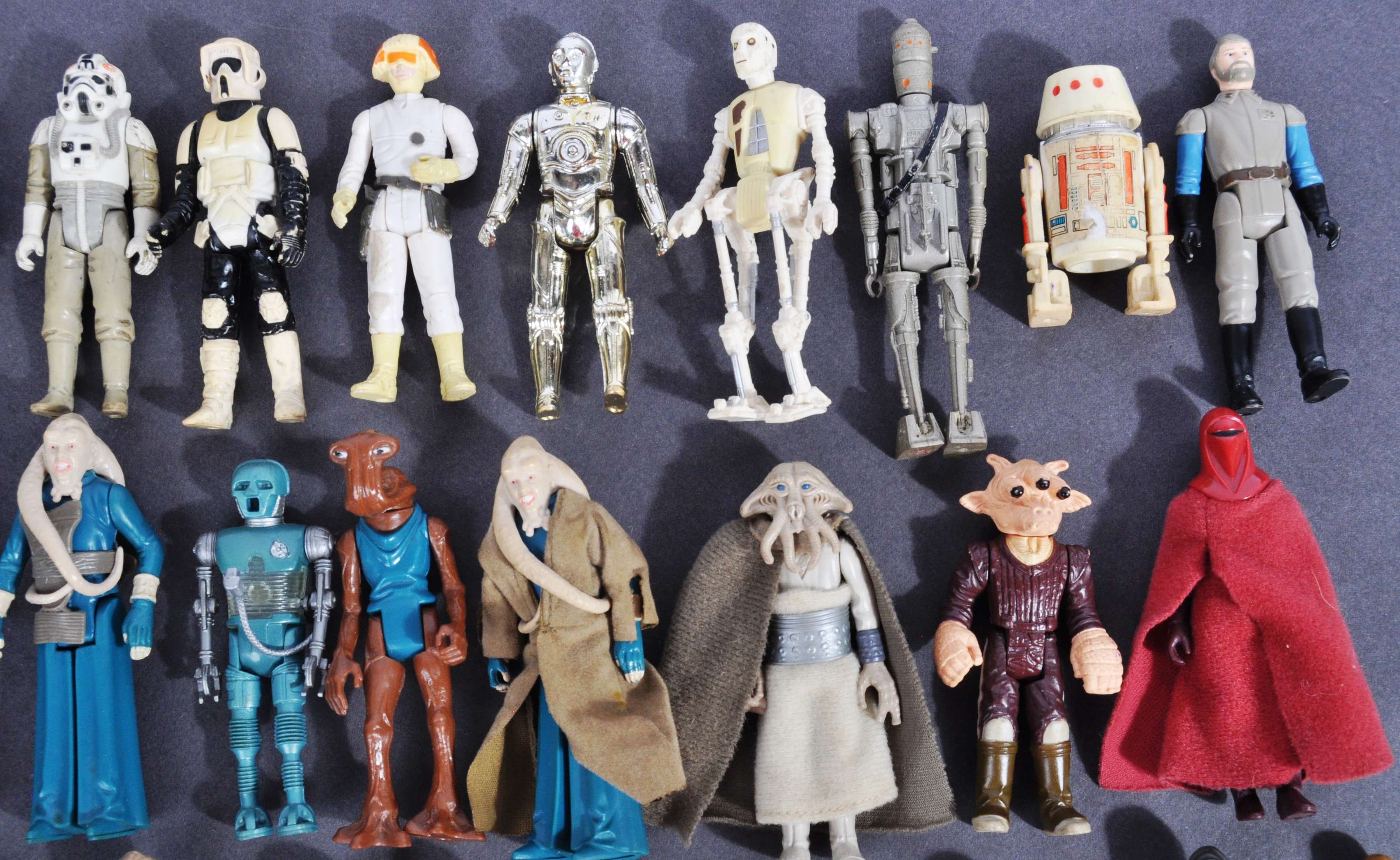 STAR WARS - COLLECTION OF VINTAGE KENNER / PALITOY ACTION FIGURES - Image 2 of 5