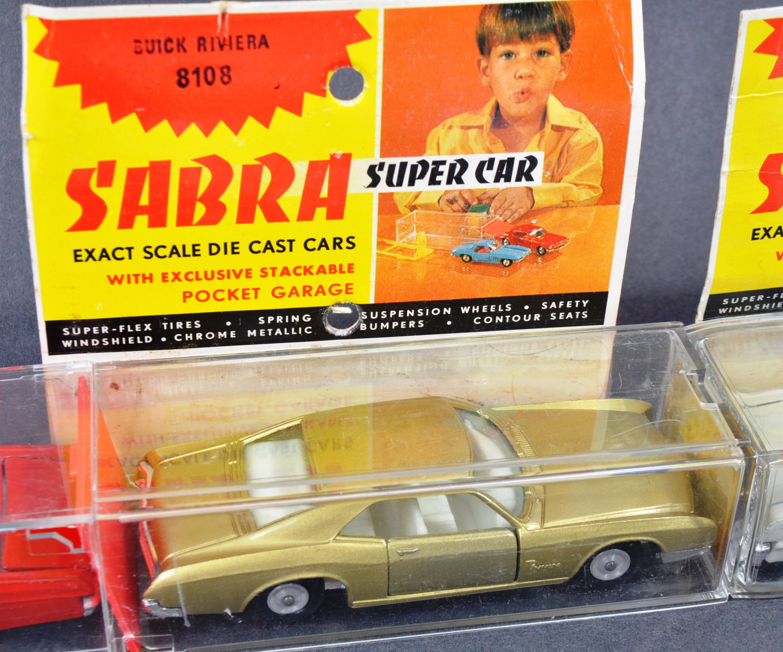COLLECTION OF X4 VINTAGE ISRAELI MADE ' SABRA ' DIECAST MODEL CARS - Image 3 of 6