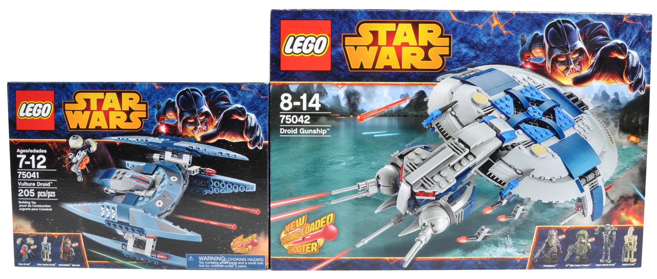 LEGO SETS - LEGO STAR WARS - 75041 / 75042