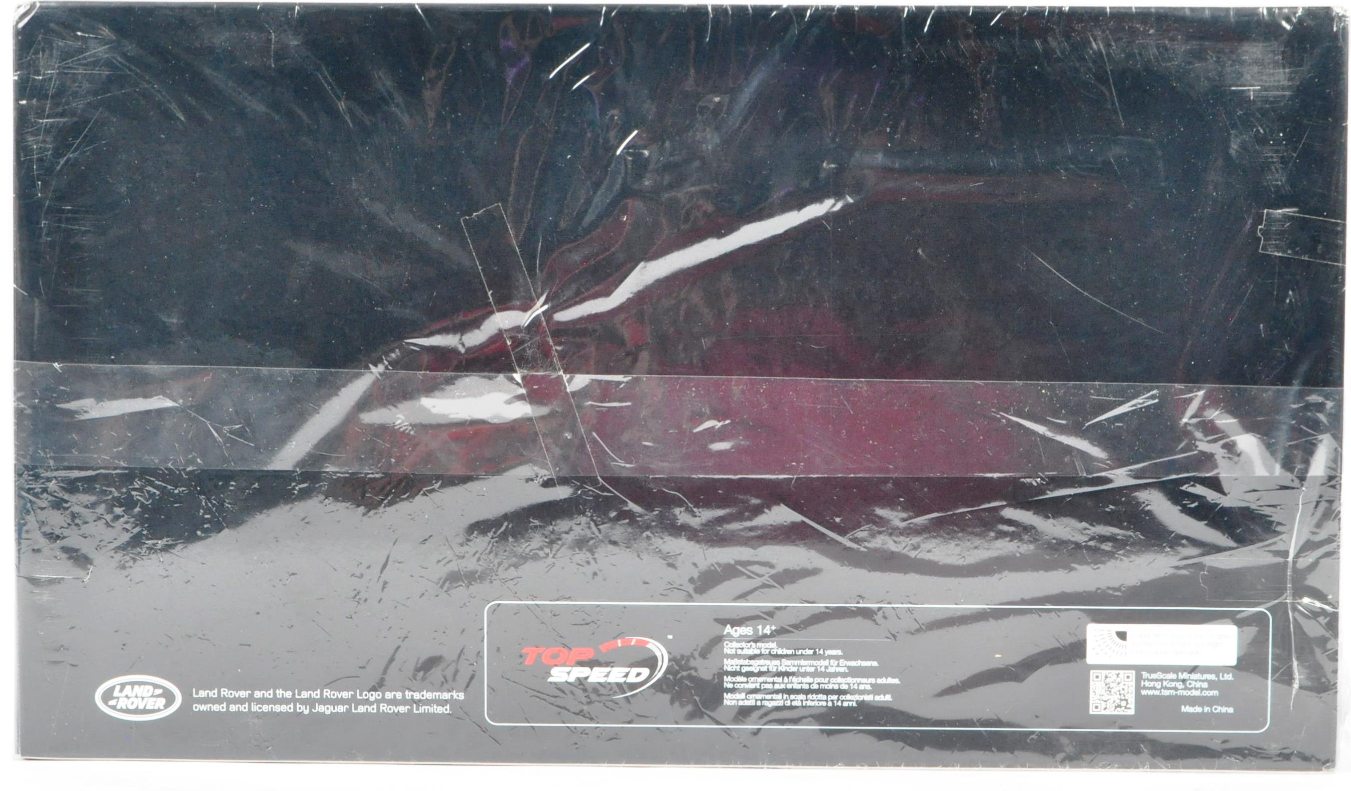 TRUE SCALE MINATURES 1/18 SCALE RANGE ROVER EVOKE CONVERTIBLE DIECAST MODEL - Image 2 of 6