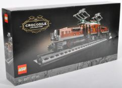 LEGO SET - LEGO CREATOR - 10277 - CROCODILE LOCOMOTIVE