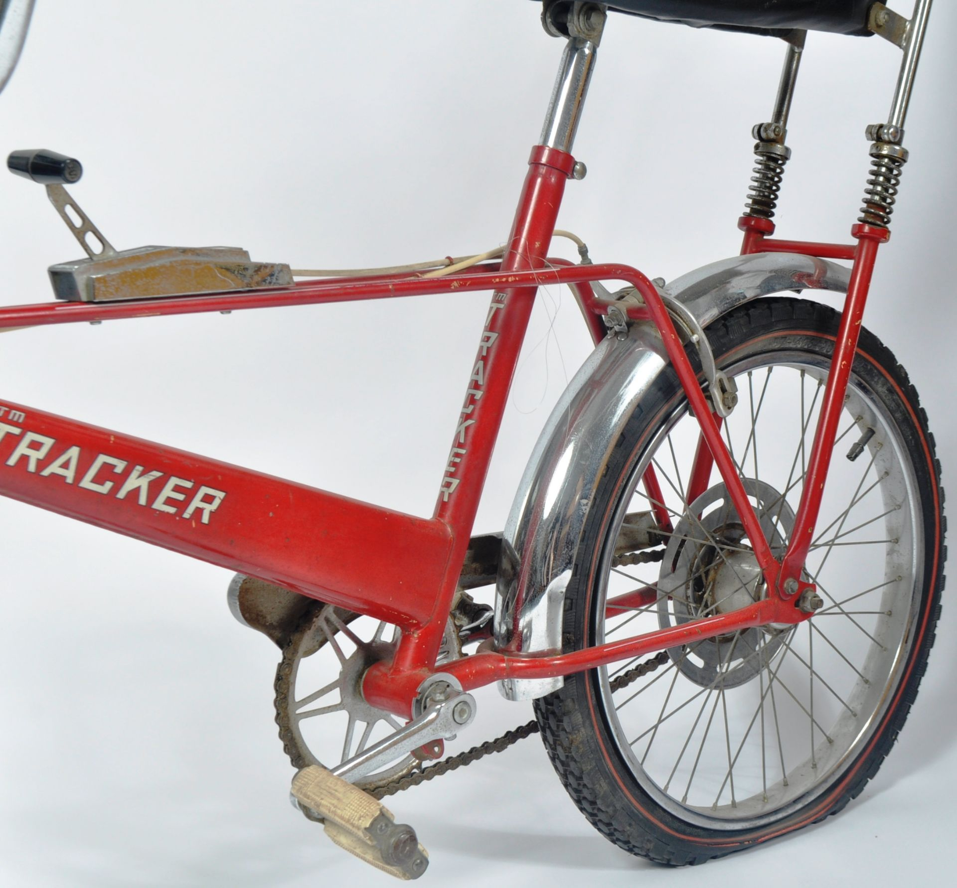 DIANA PRINCESS OF WALES - HER CHILDHOOD TRACKER BICYCLE - Image 7 of 11