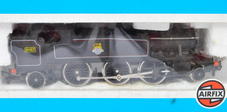 TWO ORIGINAL AIRFIX 00 GAUGE MODEL RAILWAY TRAINSET LOCOMOTIVES - Image 3 of 3