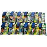 STAR WARS - COLLECTION OF KENNER CARDED ACTION FIGURES