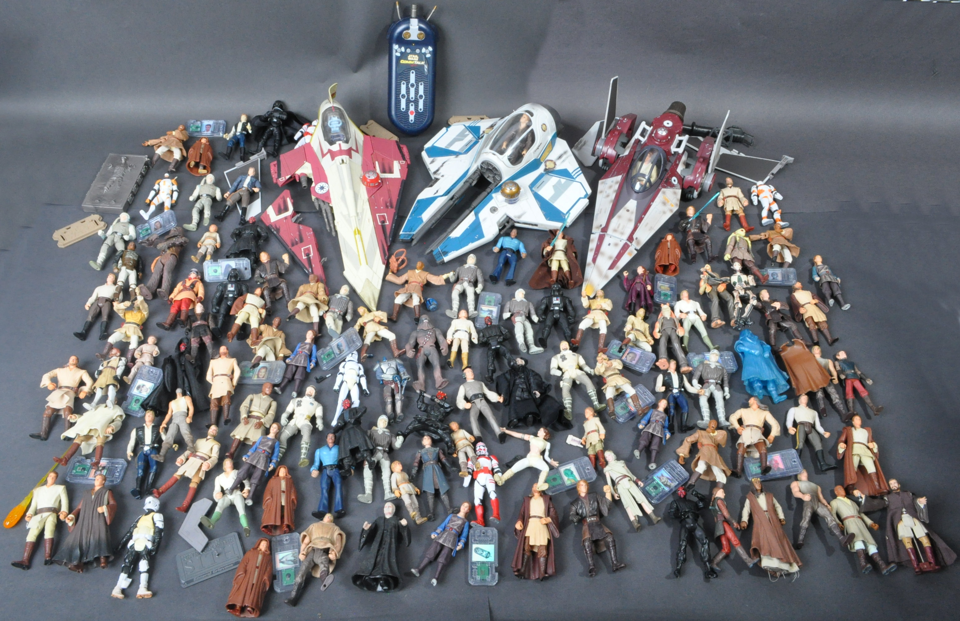 STAR WARS - LARGE COLLECTION KENNER / HASBRO CLONE WARS & OTHER FIGURES