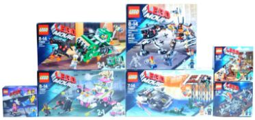 LEGO SETS - THE LEGO MOVIE - COLLECTION OF X7 LEGO MOVIE SETS
