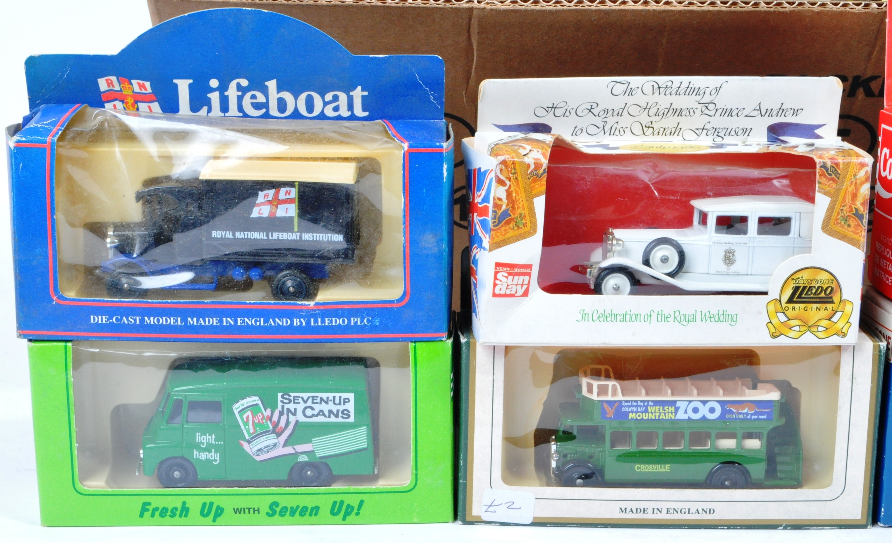 COLLECTION OF ASSORTED LLEDO DIECAST MODELS OF DAYS GONE - Image 2 of 4
