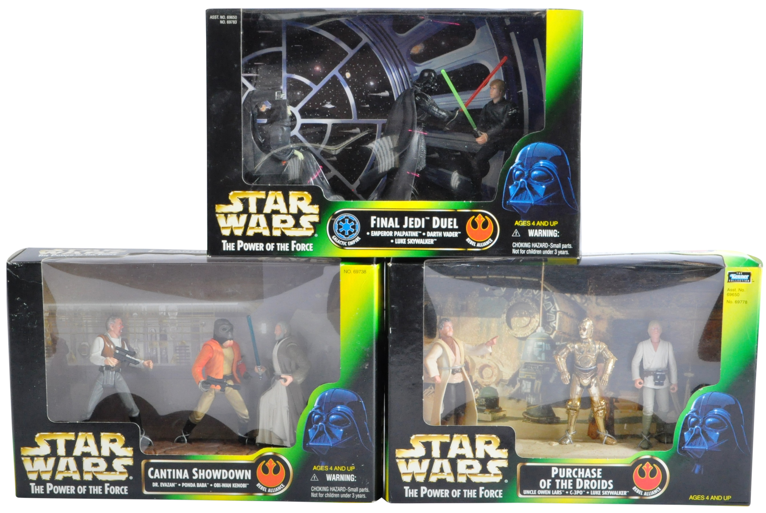 STAR WARS - COLLECTION OF KENNER POWER OF THE FORCE ACTION FIGURES