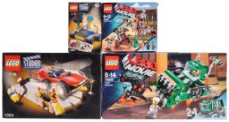 LEGO SETS - LEGO MOVIE AND LEGO STUDIOS