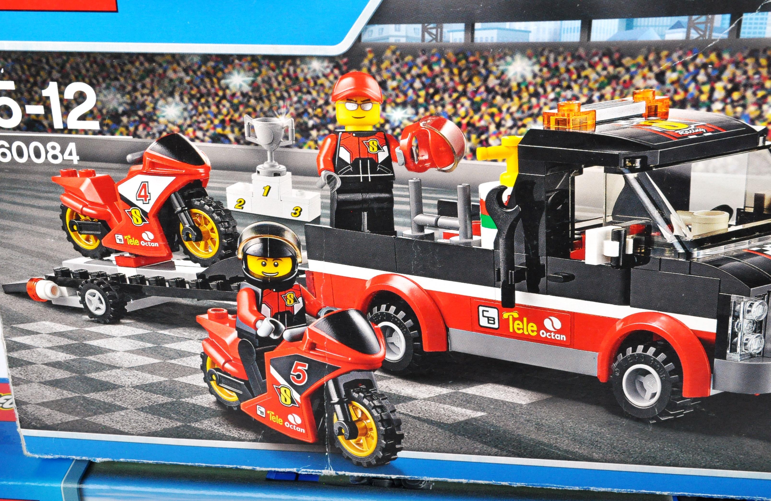 LEGO SETS - LEGO CITY - 60023 / 60084 / 60158 / 7936 / 60118 / 60057 / 7990 / 60007 - Image 5 of 5