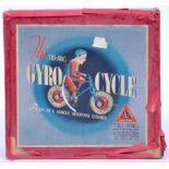 ANTIQUE TRI-ANG ' GYRO CYCLE ' LINES BROTHERS TINPLATE TOY