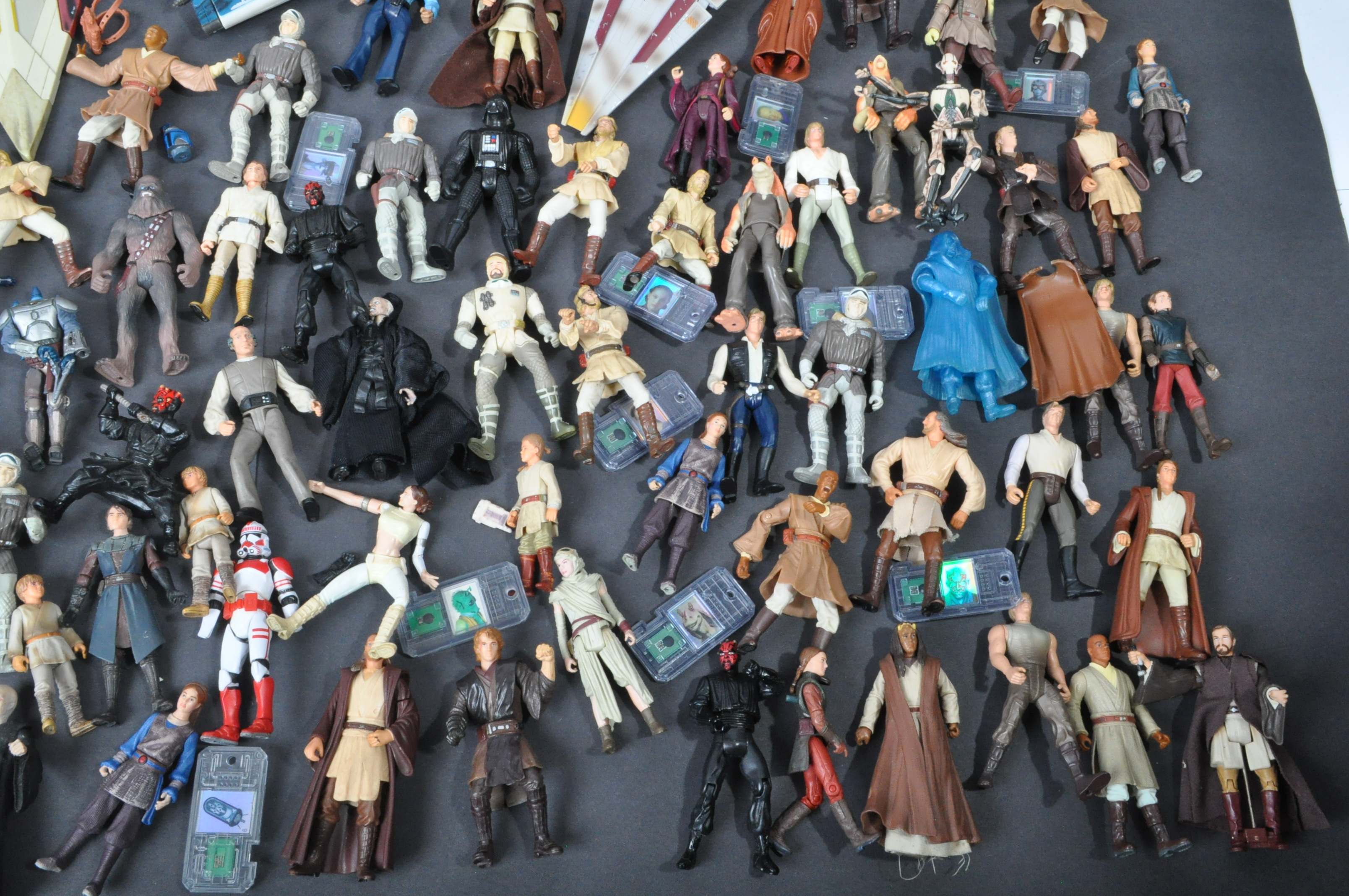 STAR WARS - LARGE COLLECTION KENNER / HASBRO CLONE WARS & OTHER FIGURES - Image 3 of 10