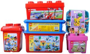 COLLECTION OF ASSORTED LEGO CREATOR BUILDING BUCKET SETS