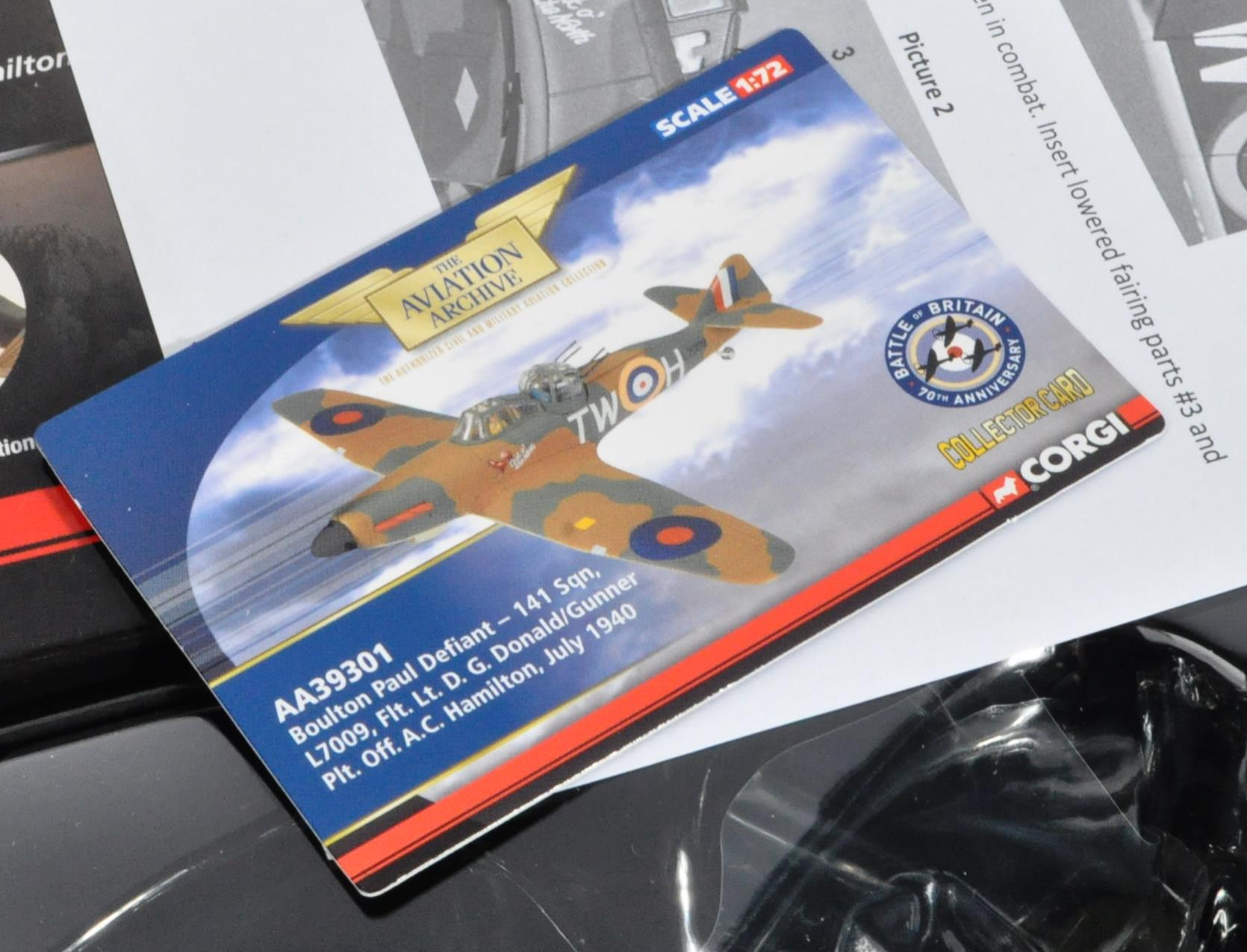 CORGI AVIATION ARCHIVE - TWO BOXED 1/72 & 1/48 SCALE MODELS - Image 3 of 4