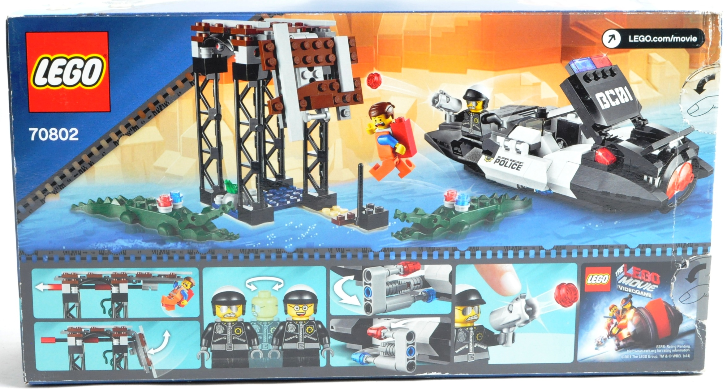 LEGO SETS - THE LEGO MOVIE - COLLECTION OF X7 LEGO MOVIE SETS - Image 12 of 17