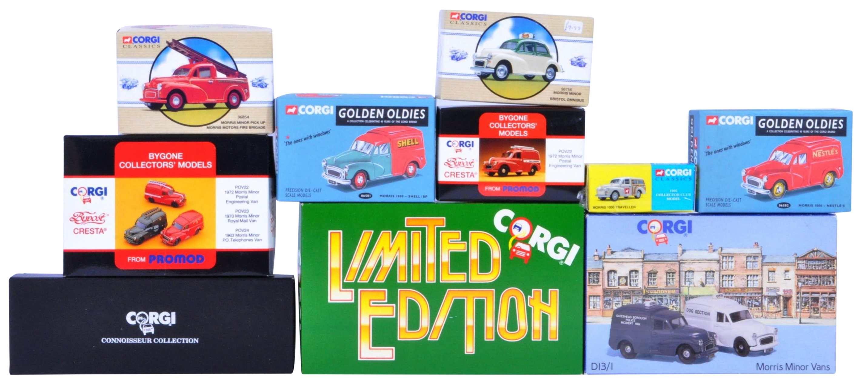 COLLECTION OF ASSORTED CORGI DIECAST MODEL CARS