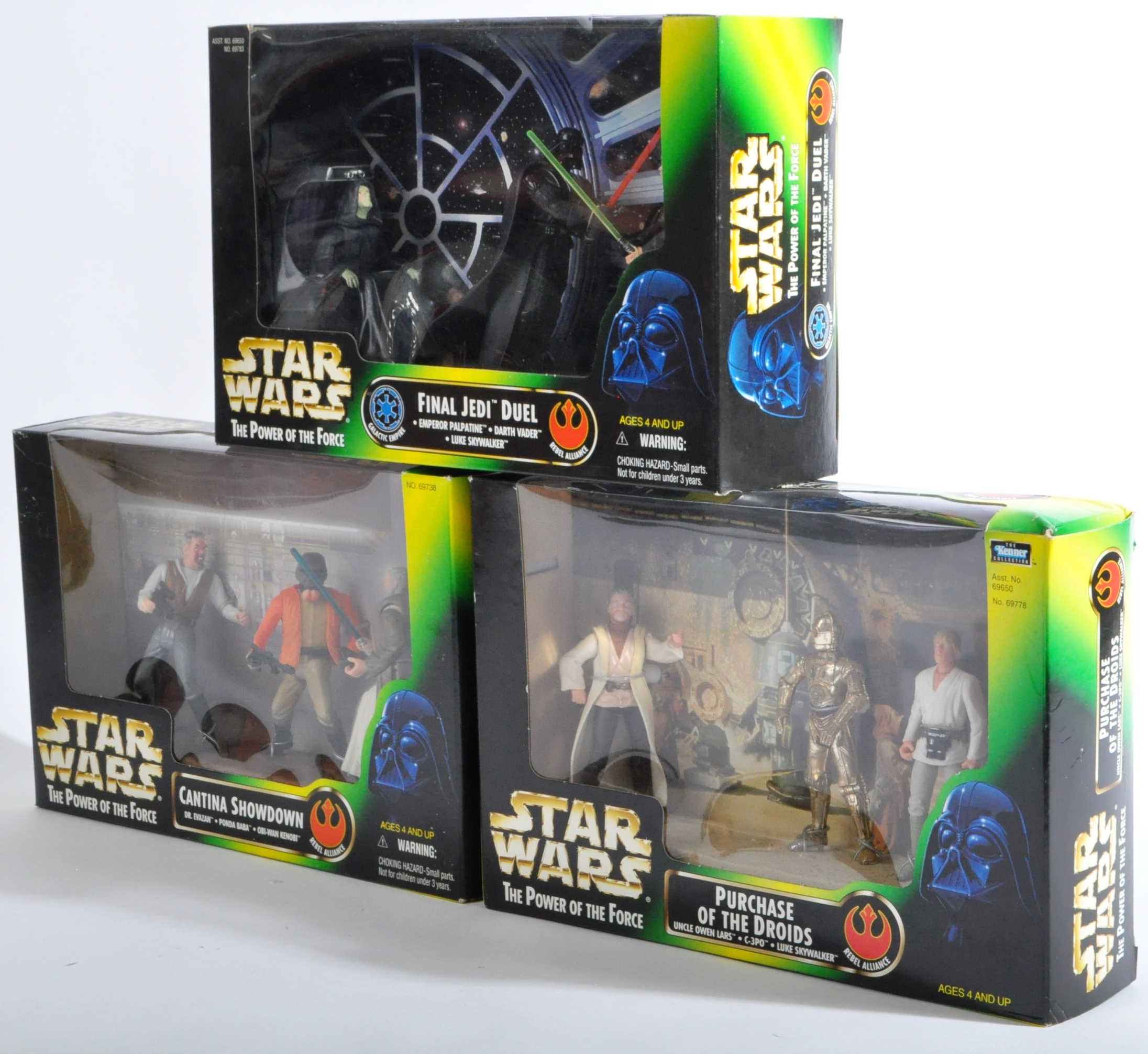STAR WARS - COLLECTION OF KENNER POWER OF THE FORCE ACTION FIGURES - Image 3 of 5