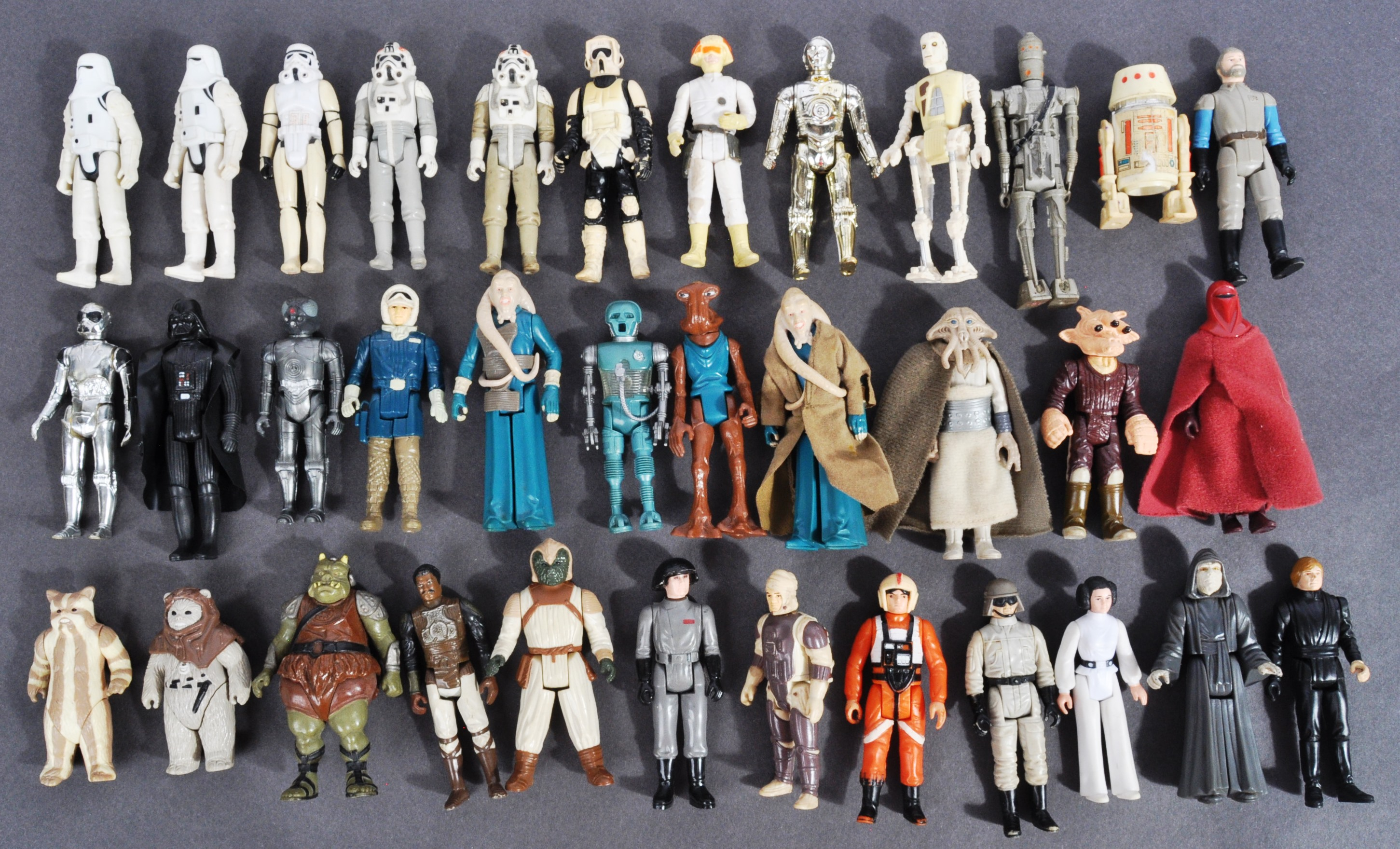 STAR WARS - COLLECTION OF VINTAGE KENNER / PALITOY ACTION FIGURES