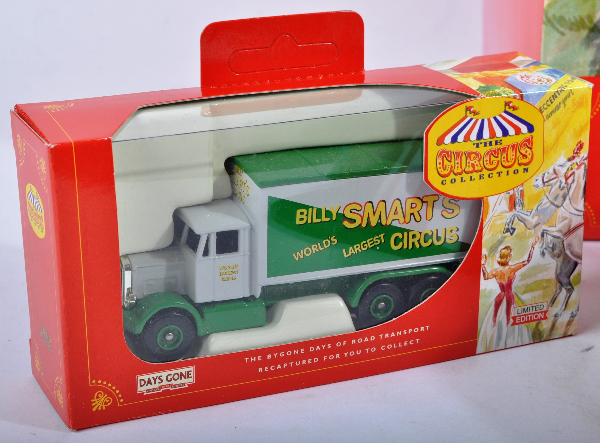 COLLECTION OF LLEDO DAYS GONE BILLY SMARTS CIRCUS DIECAST - Image 4 of 9
