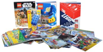 LARGE QUANITY OF LEGO INSTRUCTION MANUALS, BOOKS & MAGAZINES