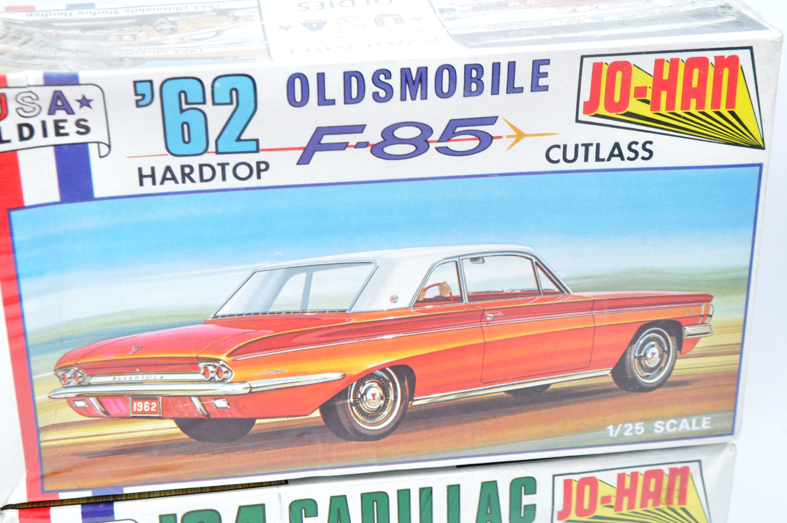 COLLECTION OF X4 VINTAGE JO-HAN FACTORY SEALED MODEL KITS - Image 3 of 7