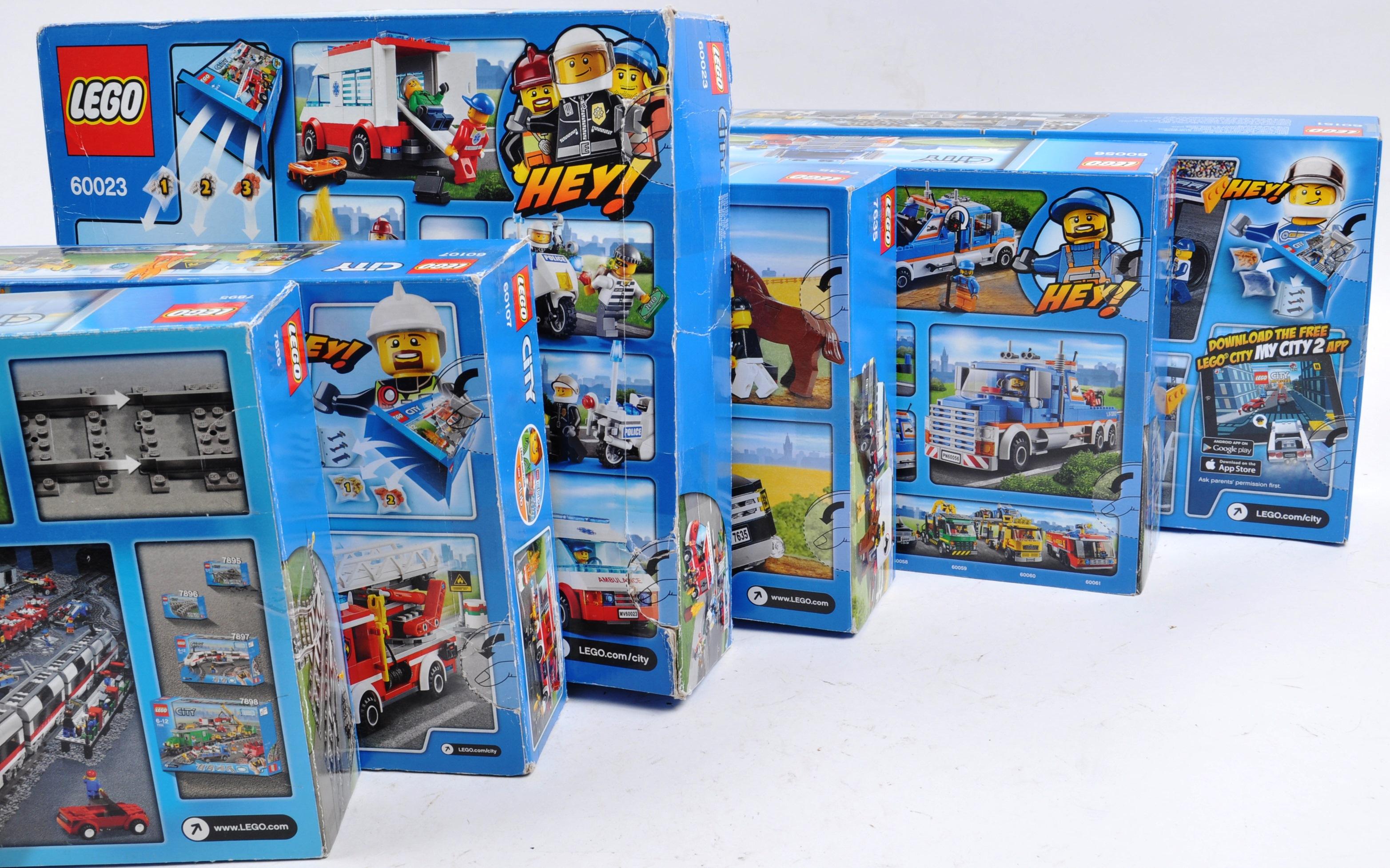 LEGO SETS - LEGO CITY - 7635 / 7895 / 60023 / 60056 / 60107 / 60151 - Image 3 of 3