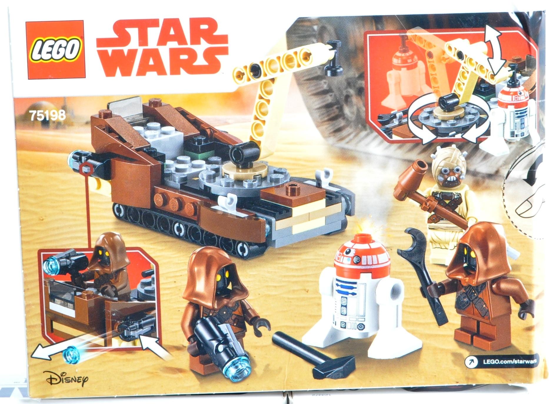 LEGO SETS - LEGO STAR WARS - 3866 / 75111 / 75114 / 75198 - Image 2 of 8
